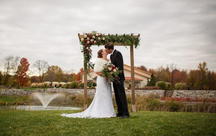 outdoor wedding venue in Michigan